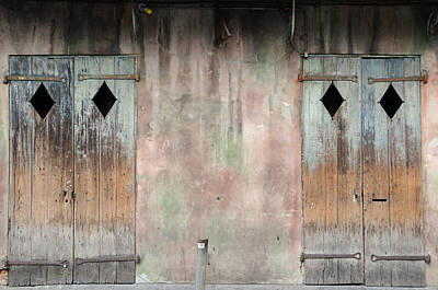 Photograph - Preservation Hall Doors by Bradford Martin