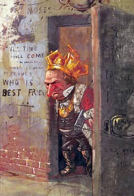 President Andrew Johnson, Detail Art Print by Everett