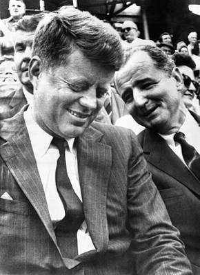 President-elect John Kennedy And Sen Art Print