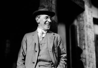 President Elect Woodrow Wilson Art Print by Everett