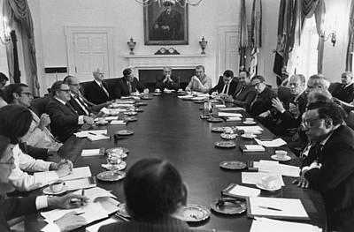 President Gerald Ford Presides Art Print