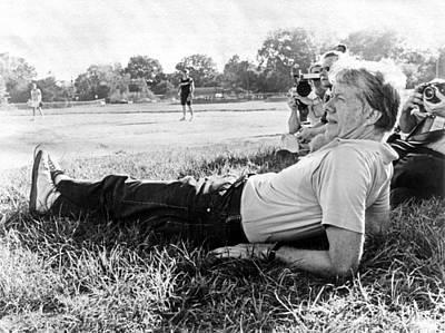 President Jimmy Carter Relaxing Art Print