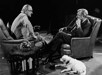 Lyndon Photograph - President Lyndon Johnson In His Last by Everett