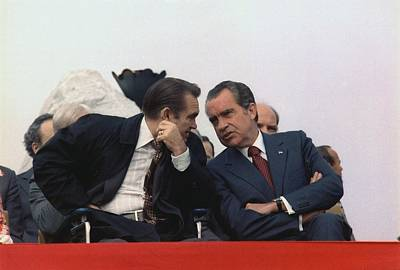 President Nixon And Gov. George Wallace Art Print