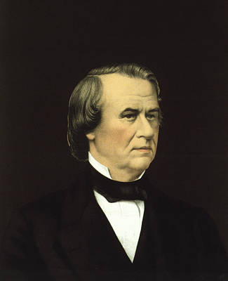 President Of The United States - Andrew Johnson Art Print by International  Images