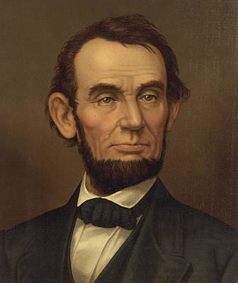 Art Print featuring the photograph President Of The United States Of America - Abraham Lincoln  by International  Images