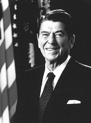 President Ronald Reagan, 1981 Art Print by Everett