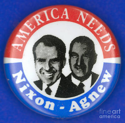 Presidential Campaign:1972 Art Print