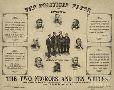 Presidential Election, 1876 Print by Granger