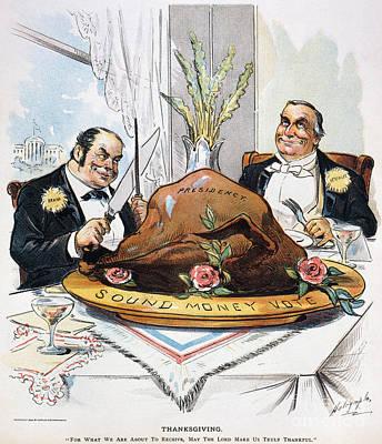 Presidential Election, 1896 Art Print by Granger