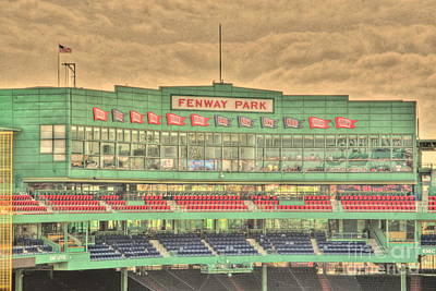 Press Box 2 Art Print