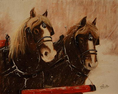 Painting - Pressin' On by Tammy  Taylor
