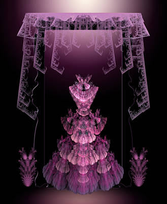 Digital Art - Pretty In Pink by Karla White