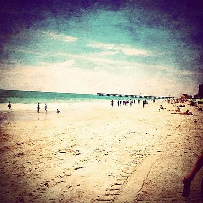 Beach Photograph - #pretty #prettycolors #summer by Katie Williams