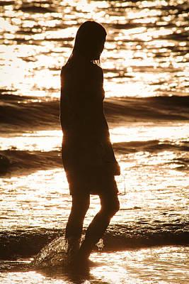 Modern Man Music - Pretty Woman Walking Alone by Patrick M Lynch