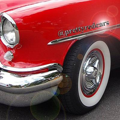Cars Wall Art - Photograph - Prettyredcars by Cameron Bentley