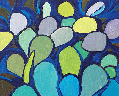 Painting - Prickly Pear 2 by Sandy Tracey