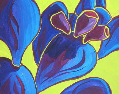 Painting - Prickly Pear Fun by Sandy Tracey