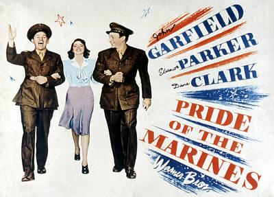 Posth Photograph - Pride Of The Marines, John Garfield by Everett