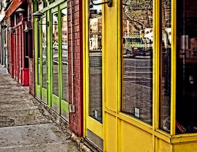 Primary Colors Art Print by Kathy Jennings