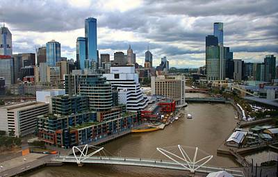 Photograph - Primary Colors Of Melbourne by Kelly Nicodemus-Miller