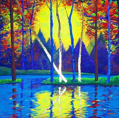 Painting - Primavera by Randall Weidner