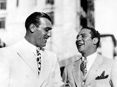 Primo Carnera & Max Baer Sr.being Art Print