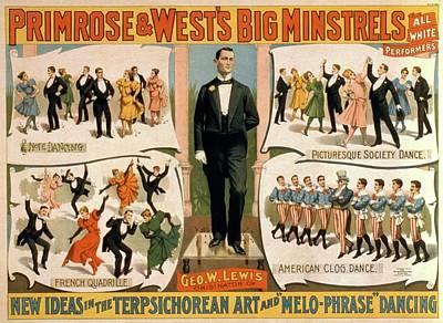 Primrose And Wests Big Minstrels Art Print