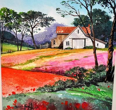 Primrose Farm Art Print