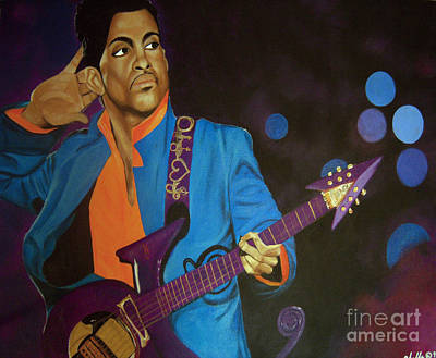 Painting - Prince by Chelle Brantley