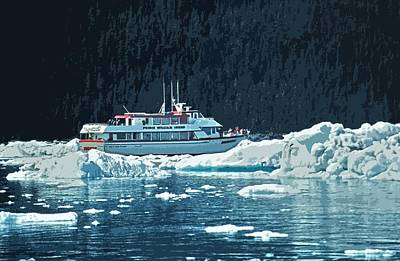 Photograph - Prince William Sound - Alaska by Juergen Weiss