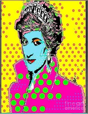 Princess Di Art Print by Ricky Sencion