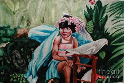 Painting - Princess Quinn by LJ Newlin