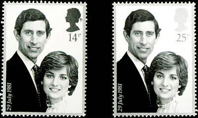 Princess Diana Photograph - Princesslady Diana Spencer, And Prince by Everett