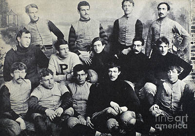 Photograph - Princeton Football, 1890 by Granger
