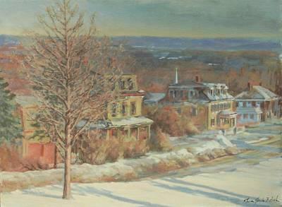 Princeton Village Original by Sharon Jordan Bahosh