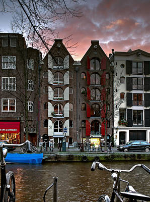 Photograph - Prinsengracht 476. Amsterdam by Juan Carlos Ferro Duque