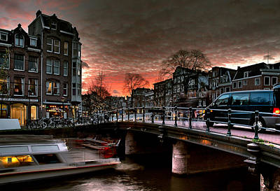 Photograph - Prinsengracht 568. Amsterdam by Juan Carlos Ferro Duque