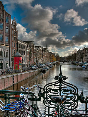Photograph - Prinsengracht And Leidsestraat. Amsterdam by Juan Carlos Ferro Duque