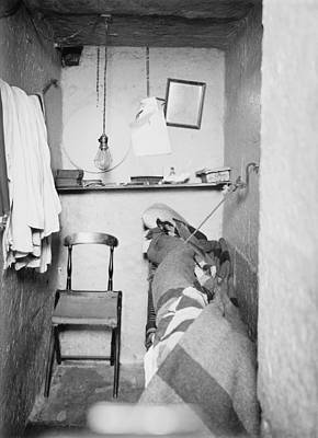 Dungeon Photograph - Prison Cell In New York States Maximum by Everett