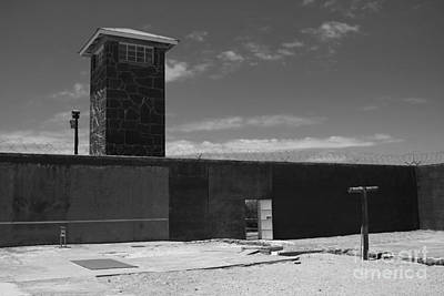 Photograph - Prison Tower by Aidan Moran