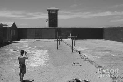Photograph - Prison Yard by Aidan Moran