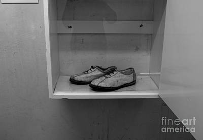 Photograph - Prisoners Shoes  by Aidan Moran