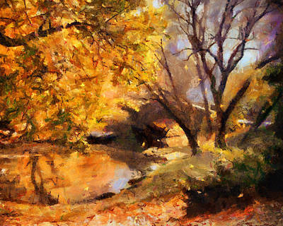 Painting - Private Bridge by Jai Johnson