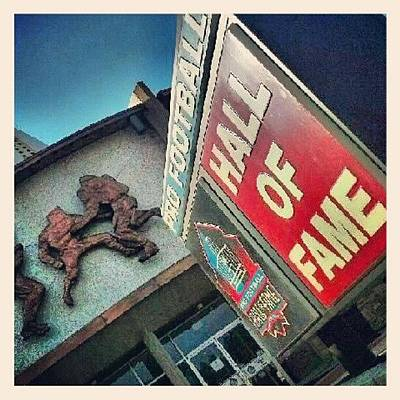 Fame Wall Art - Photograph - Pro Fb Hall Of Fame by Andy Lopusnak