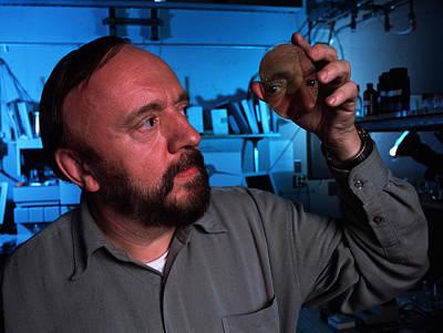 Polymer Photograph - Professor Jean Frechet, Biochemist by Volker Steger
