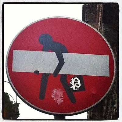 Pop Art Wall Art - Photograph - Prohibido Prohibir #streetart #stickers by Marce HH