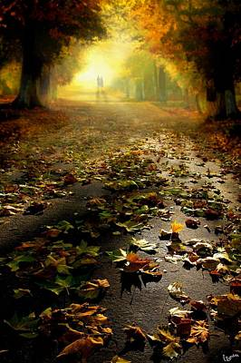 Digital Art - Promenade by Igor Zenin