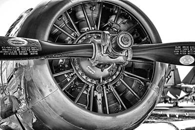 Harvard Propeller Photograph - Prop Power by Douglas Barnard