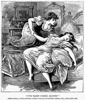 Bordello Photograph - Prostitution, 1896 by Granger
